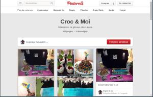 Croc & Moi sur Pinterest