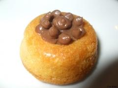 mini baba au chocolat