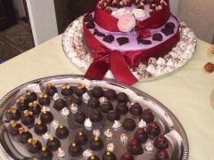 piece montée chocolats
