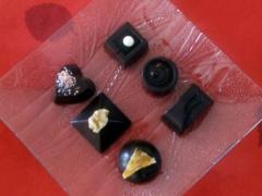 géométrie de chocolats